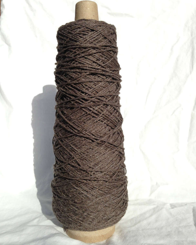 4-Ply Worsted Wool Warp, Charcoal