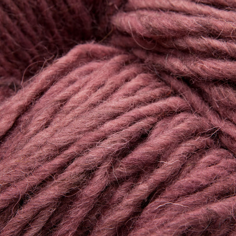 Dark Rose, Hand-dyed Rug Yarn