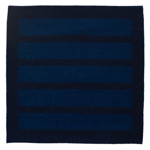 Untitled (Five Blocks, Blue) by Cornelia Theimer Gardella