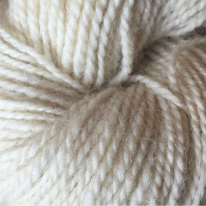 Natural White 2-ply Tapestry Yarn