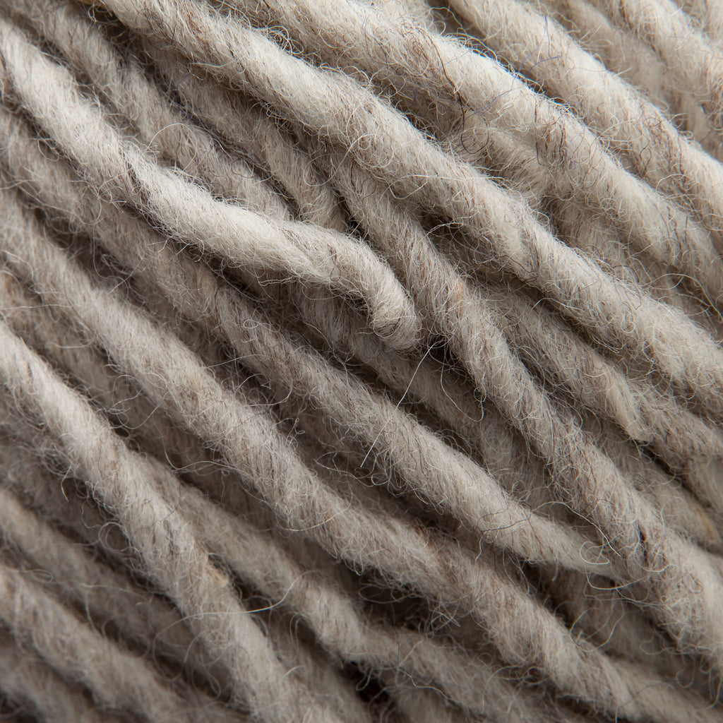 Natural Grey Rug Yarn