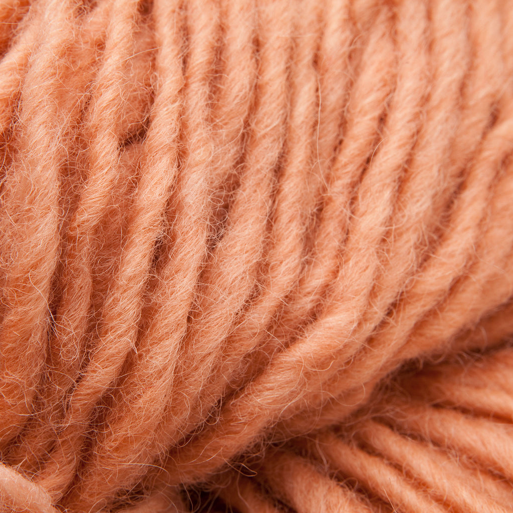 Peach, Hand-dyed Rug Yarn