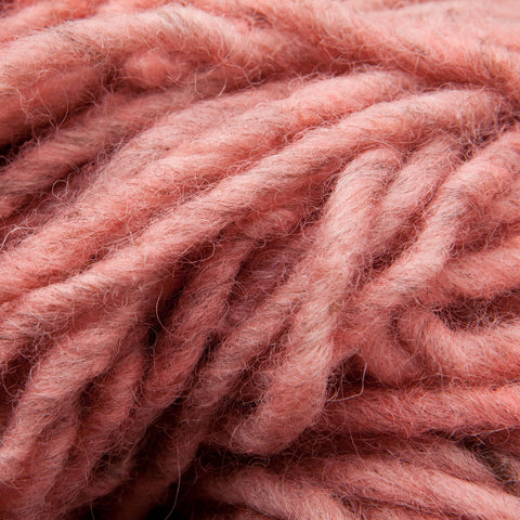 Rose, Hand-dyed Rug Yarn