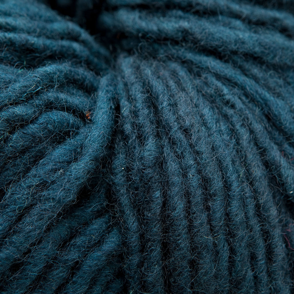 Teal, Hand-dyed Rug Yarn