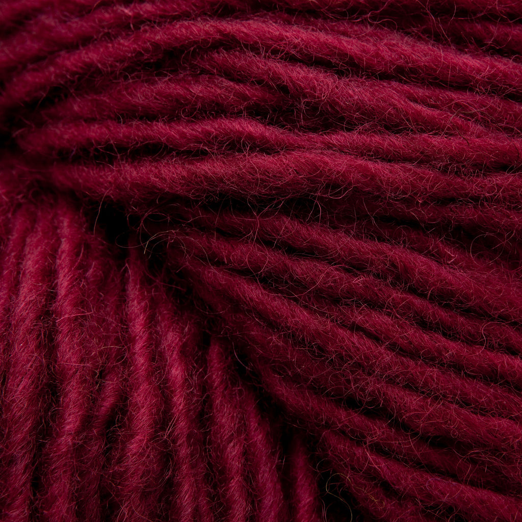 Wine, Hand-dyed Rug Yarn