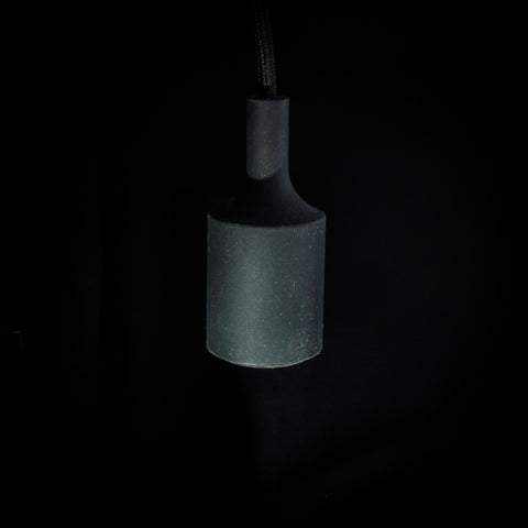 Black Silicon Pendant