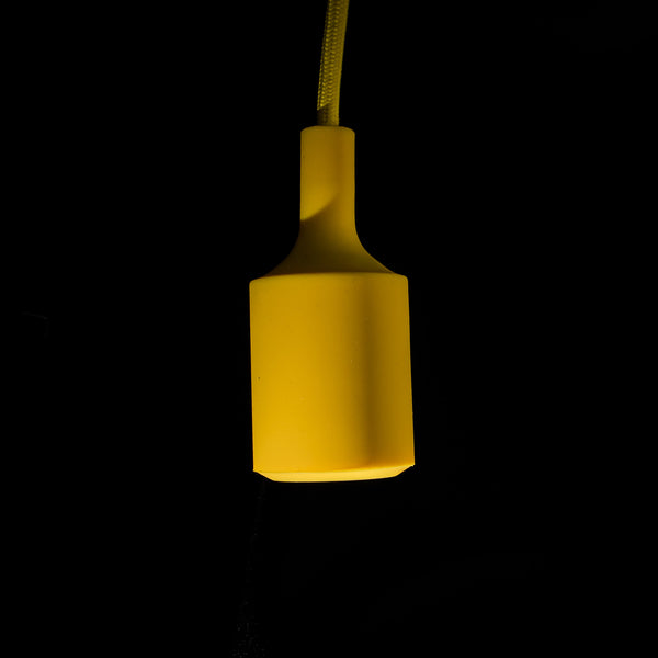 Yellow Silicon Pendant