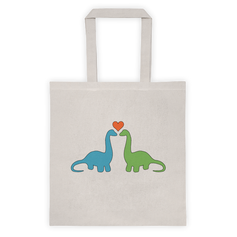 Dino Love Tote Bag