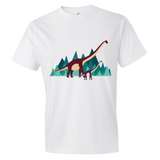 Dinosaur Adventure mens t-shirt white