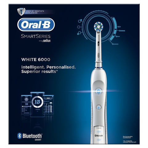 Oral B Pro 6000 Cross Action Power Brush -  - 1