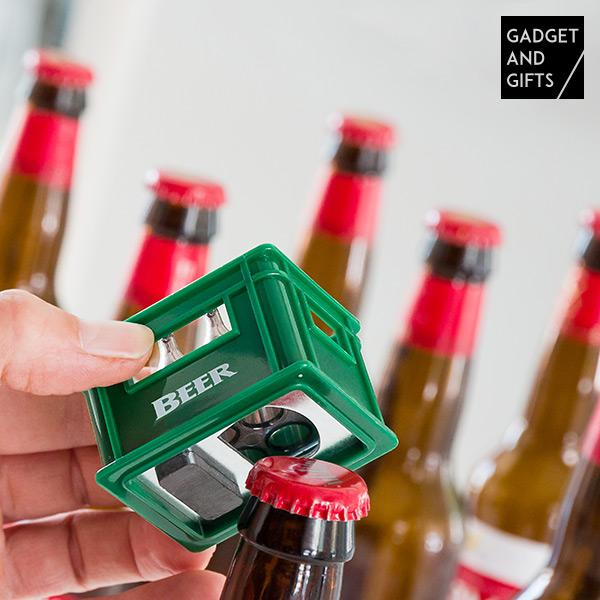 Gadget And Gifts Beer Box-shaped Bottle Opener Fridge Magnet