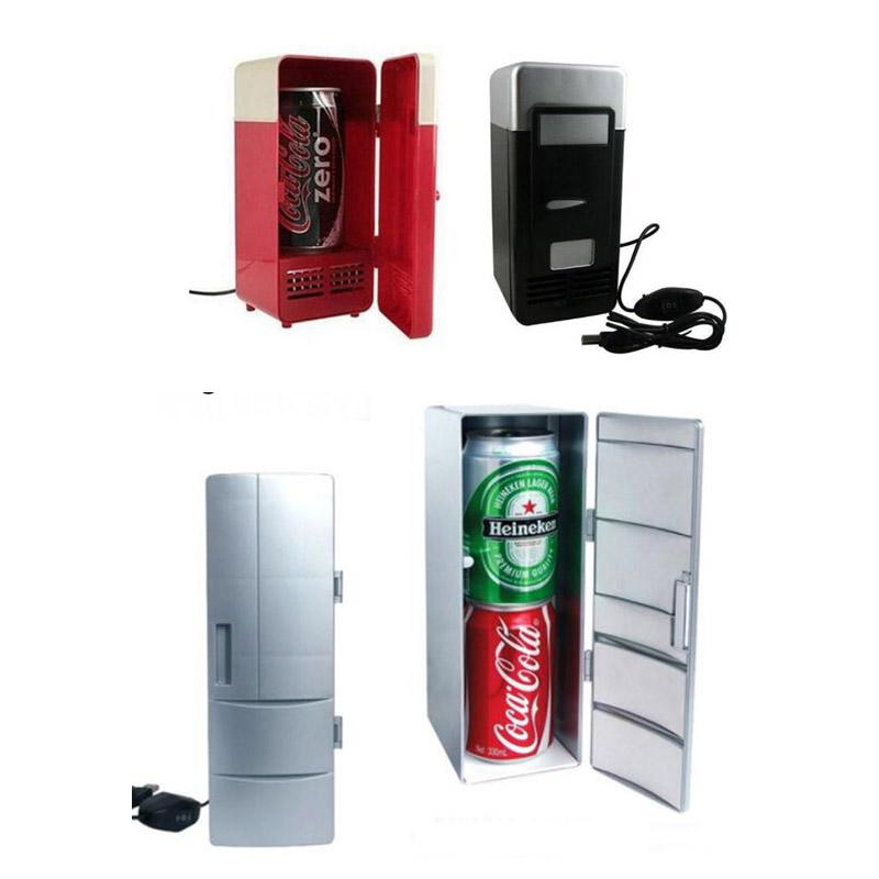 USB Refrigerator W/ Internal LED Light