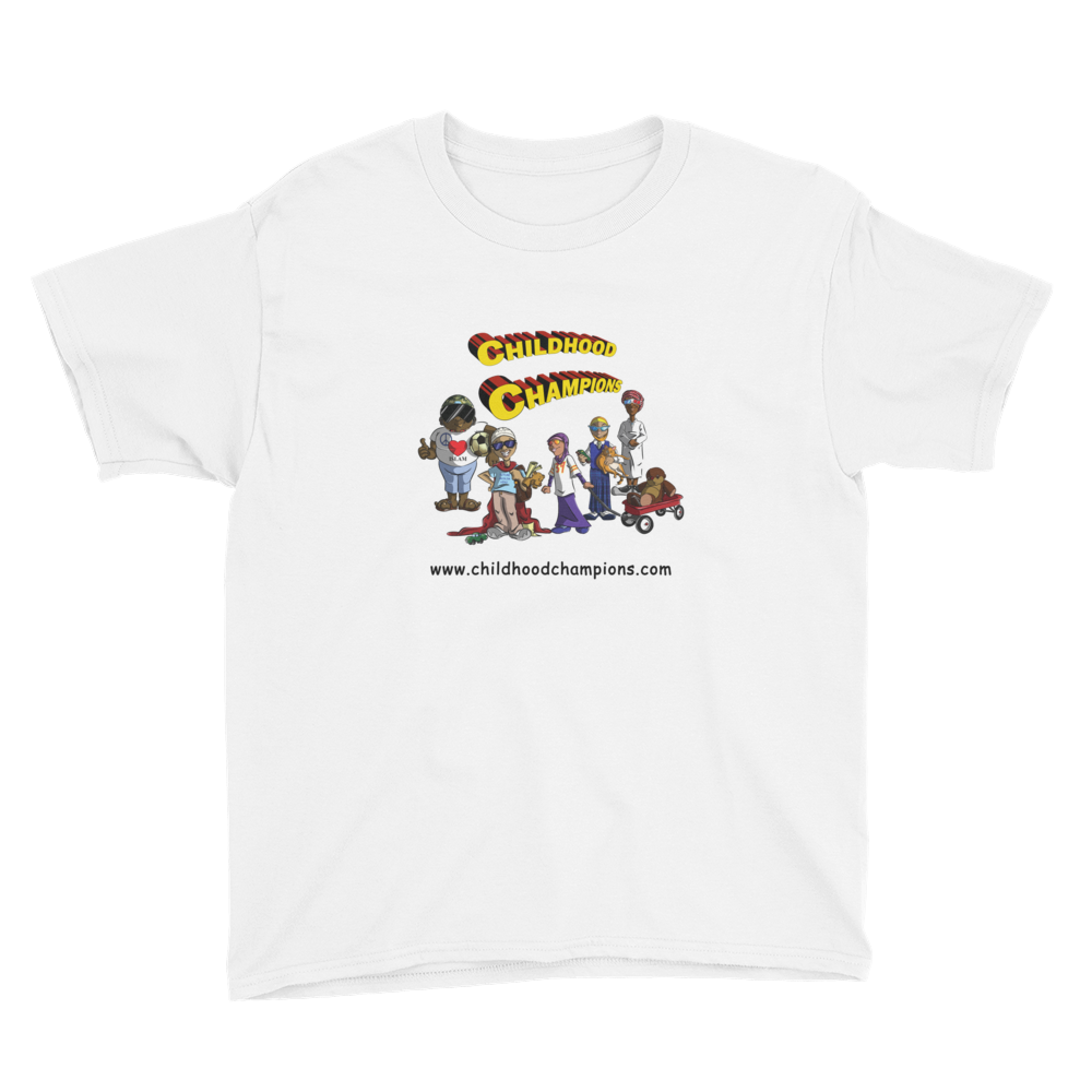 Childhood Champions boys youth short sleeve tee-shirt