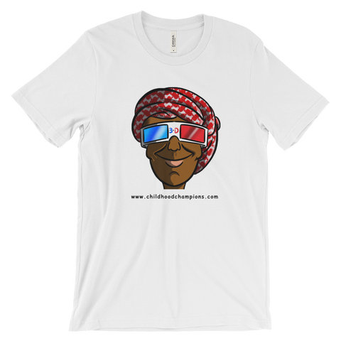 Bilal Ali BIG FACE unisex short sleeve tee-shirt