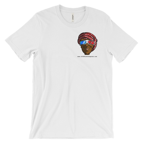 Bilal Ali unisex SMALL FACE short sleeve tee-shirt