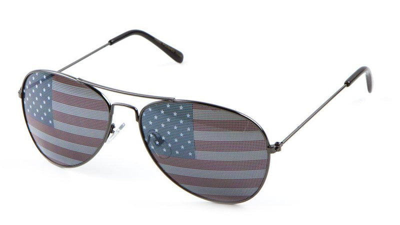 Sunglasses - KIDS - American Flag Aviators