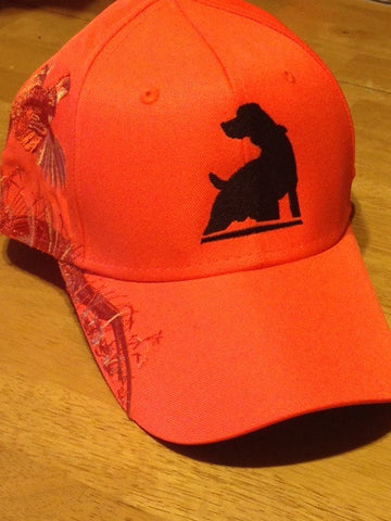 TKO Dri Duck Blaze Orange Bob White Quail Hat