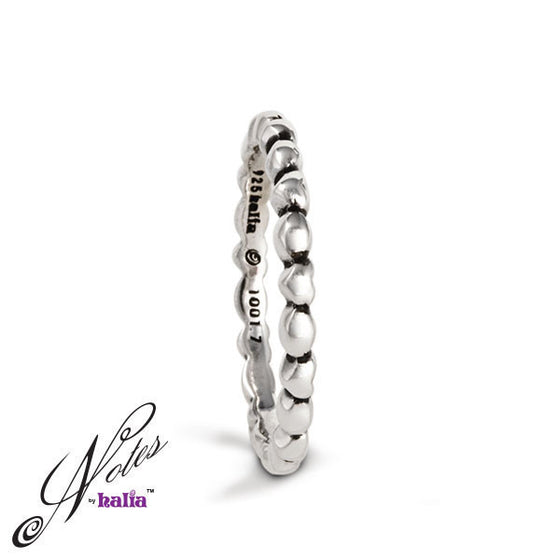 Love All Around Stacking Ring - Metalsmiths Sterling™ Canada