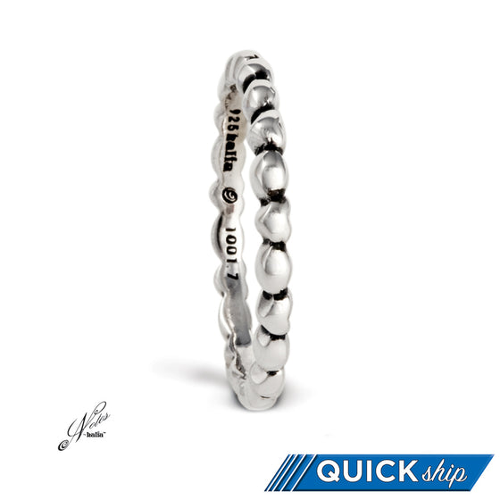 Love All Around Stacking Ring - Quick Ship