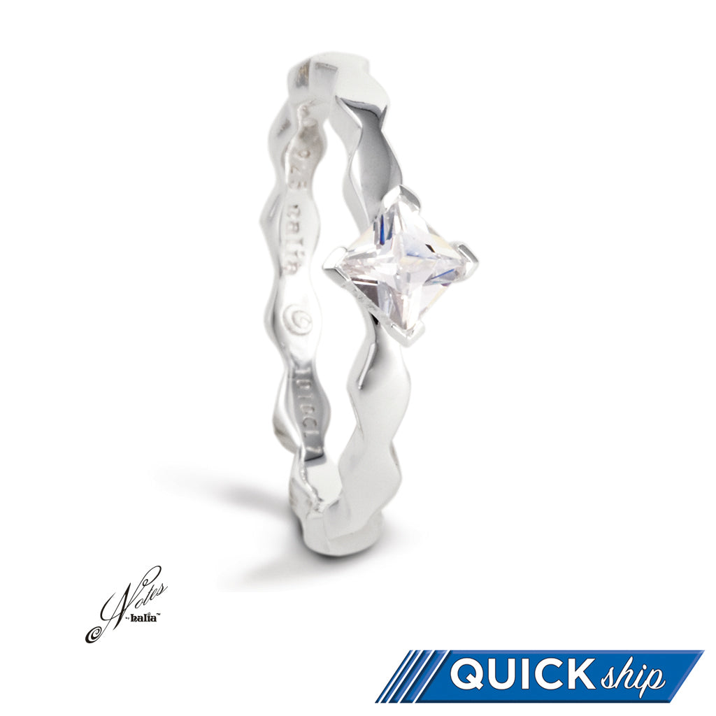 Fancy Fierce Stacking Ring - Quick Ship