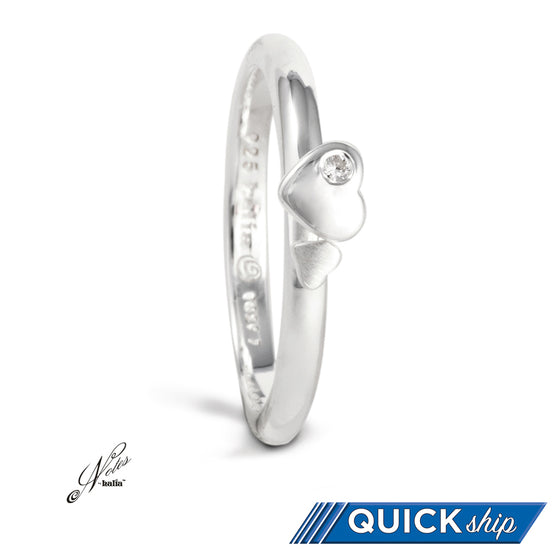 Kitten Heels Stacking Ring - Quick Ship