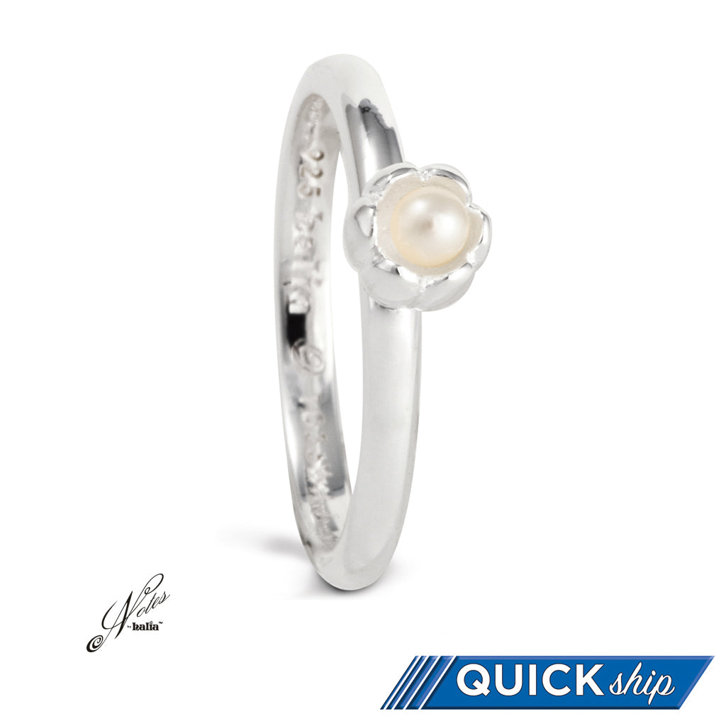 Dance 'til Dawn Pearl Stacking Ring - Quick Ship