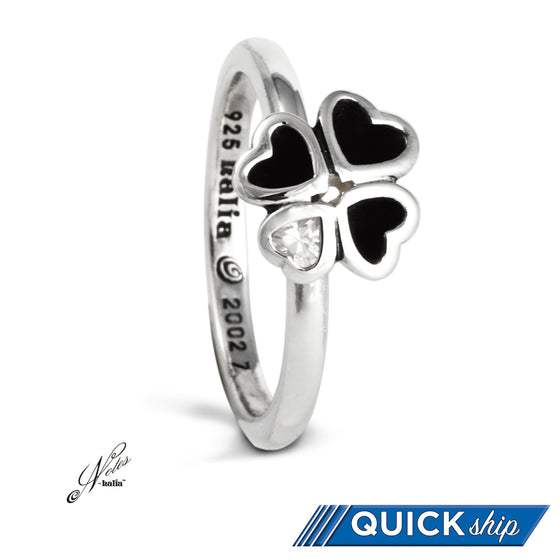 Hearts Ablaze Stacking Ring - Quick Ship