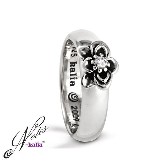 Fantastic Flower Stacking Ring - Metalsmiths Sterling™ Canada