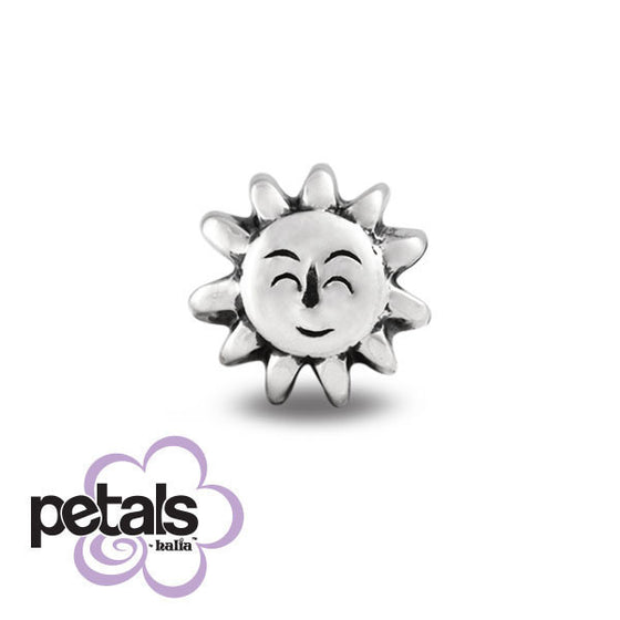 Chase the Clouds Away -  Petals Sterling Silver Charm