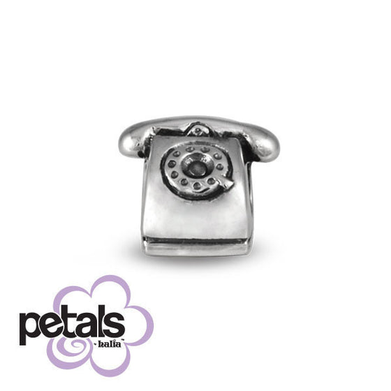Hello Operator -  Petals Sterling Silver Charm