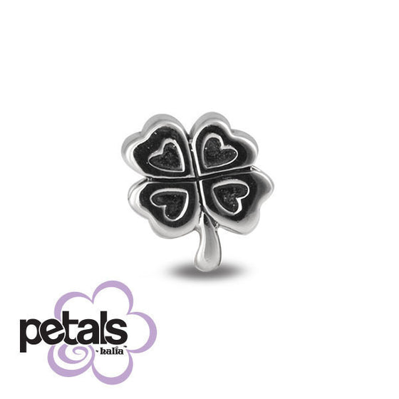 Lucky Girl -  Petals Sterling Silver Charm