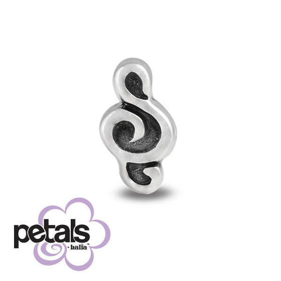 Musical Prodigy -  Petals Sterling Silver Charm