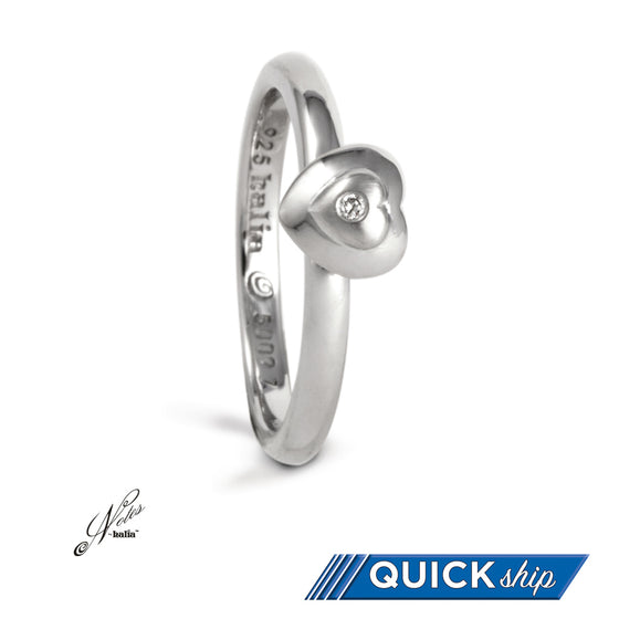 Wrapped in Love Diamond Stacking Ring - Quick Ship