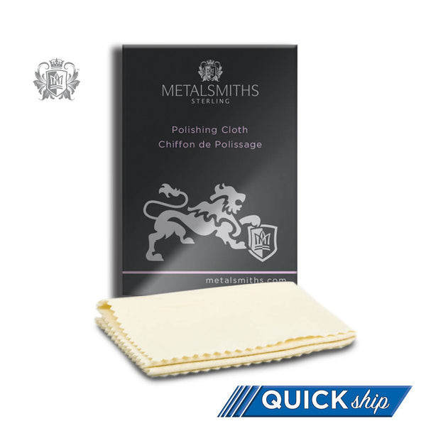 Metalsmiths Sterling™ Polishing Cloth -  Care and Travel