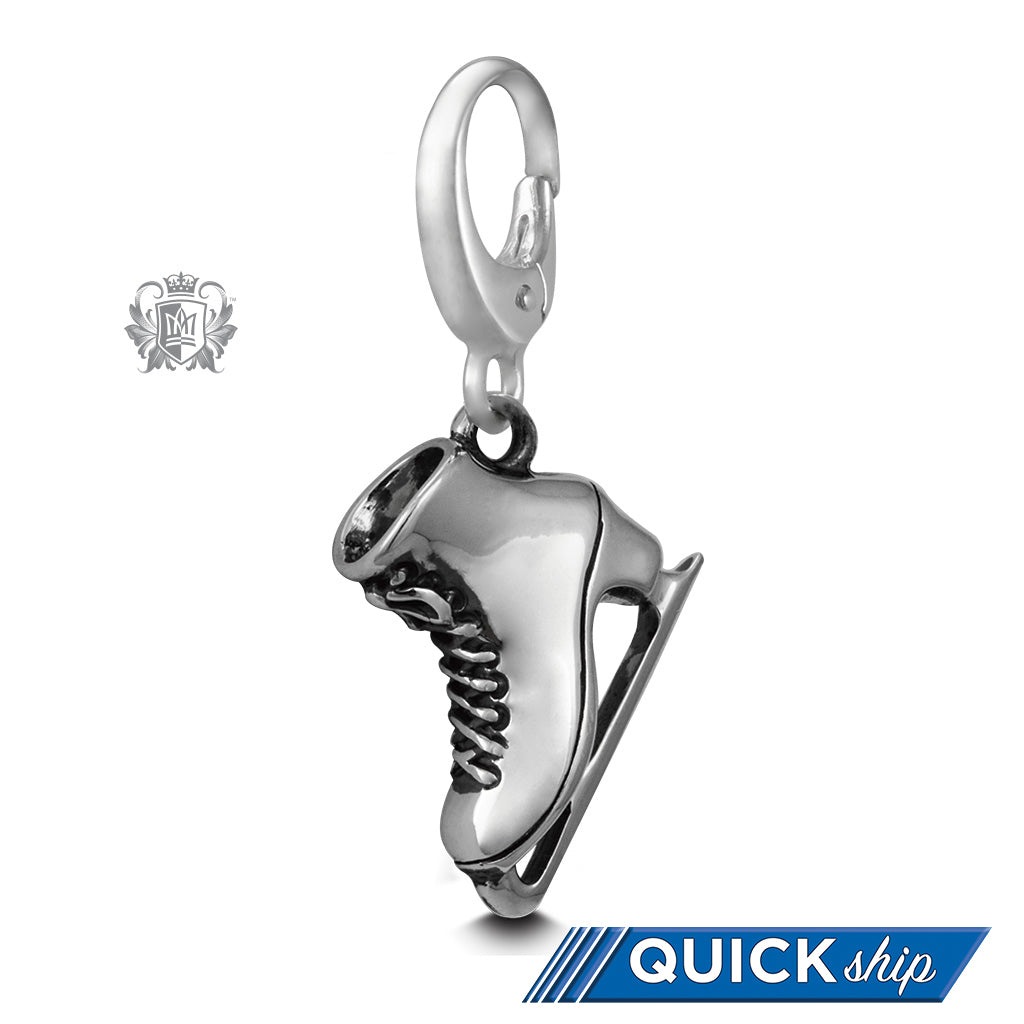 Quick Ship Figure Skate Charm -  Charm