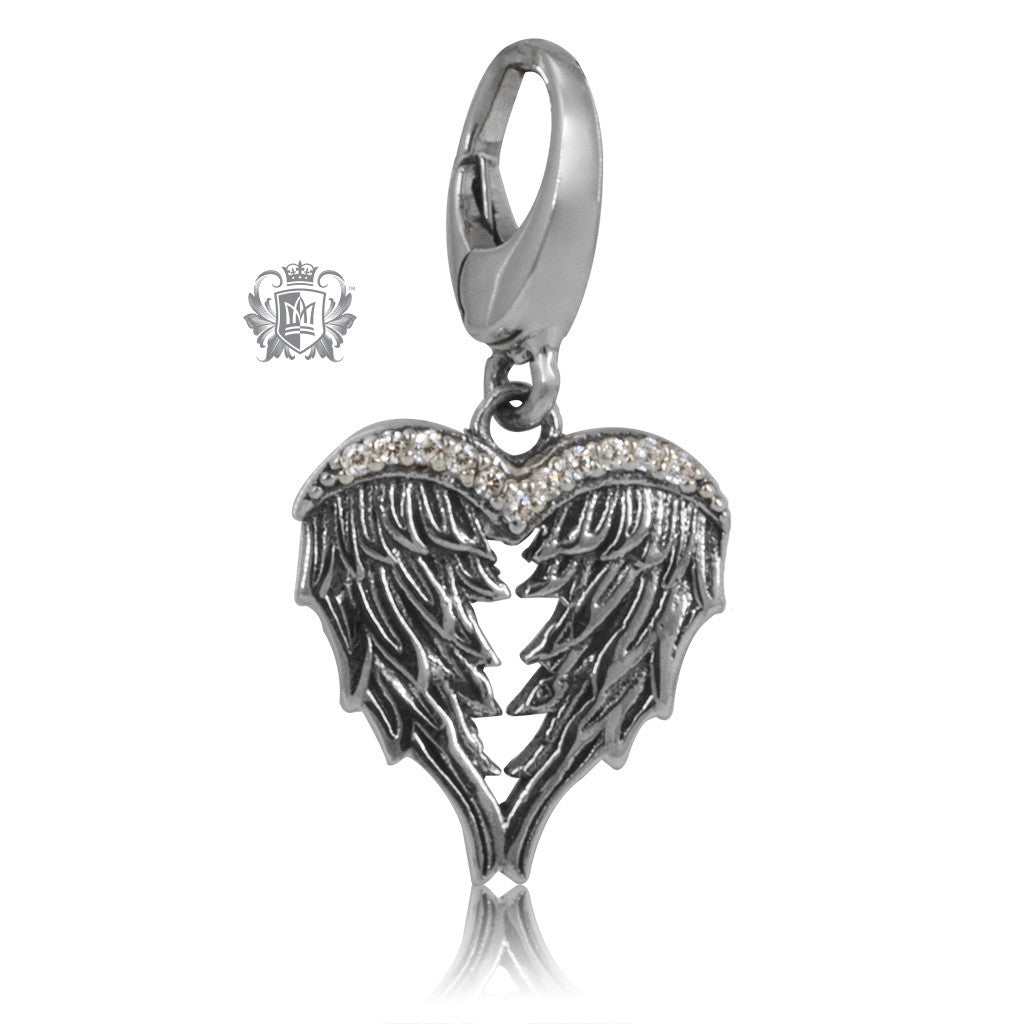 Metalsmiths Sterling Silver Angel Wings Charm