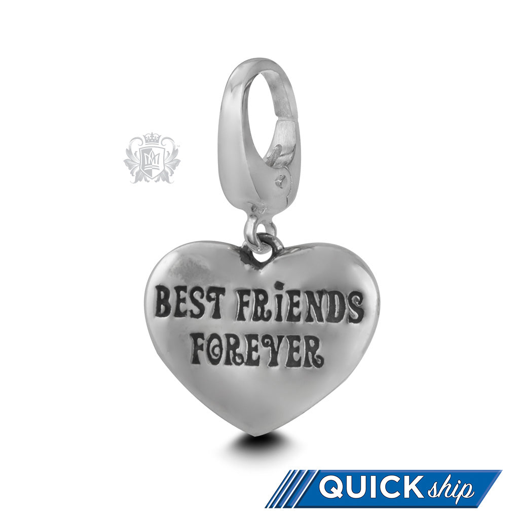 Quick Ship Best Friends Forever Charm -  Charm