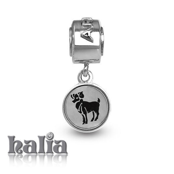 Aries -  Sterling Silver Dangling Charms