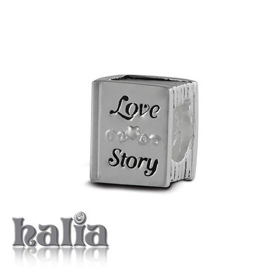 Love Story -  Sterling Silver Bead