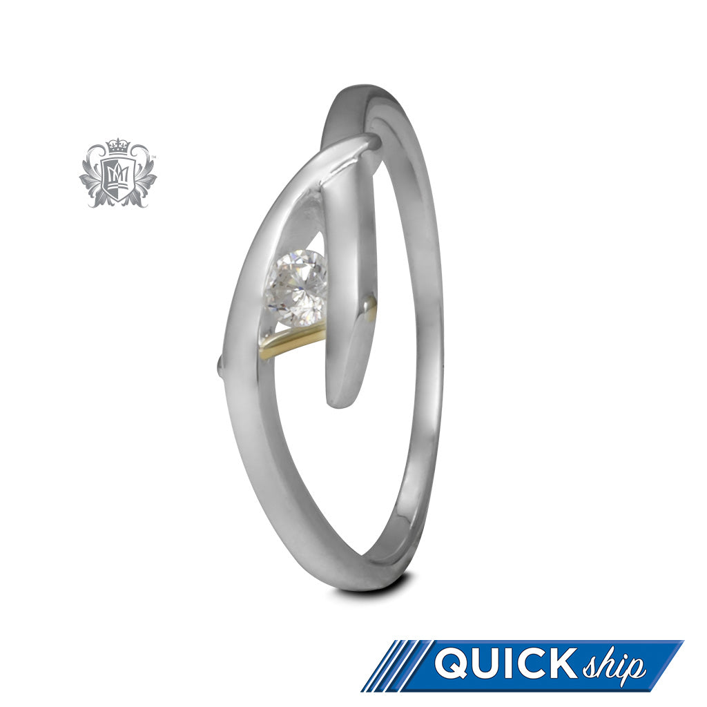 Gentle Sweep Ring