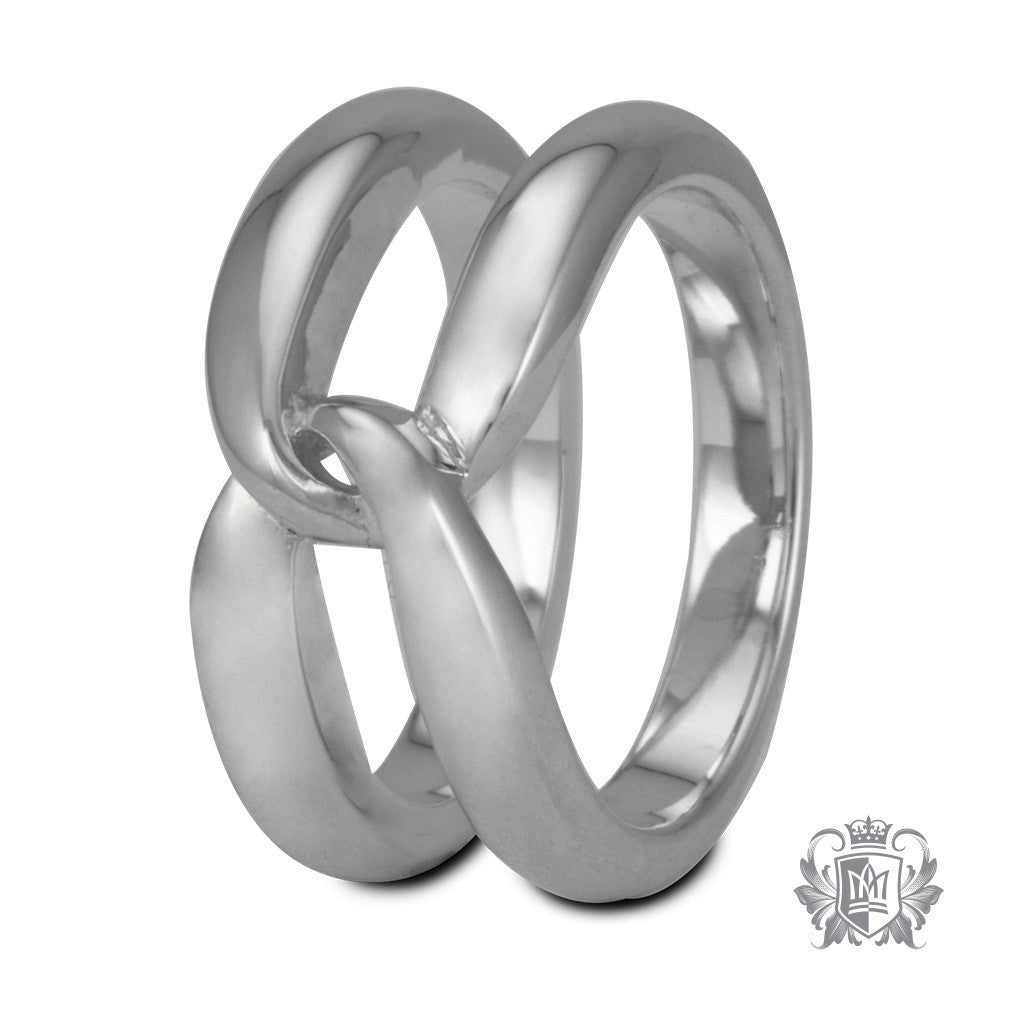 Single Hercules Knot Band - Size 6 Rings - 1