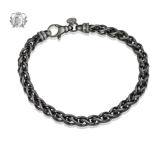 Street Finish Loop in Loop Link Bracelet