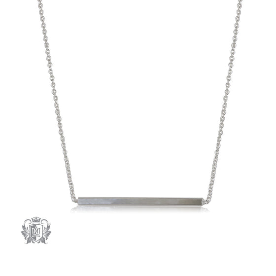 Squared Bar Necklace