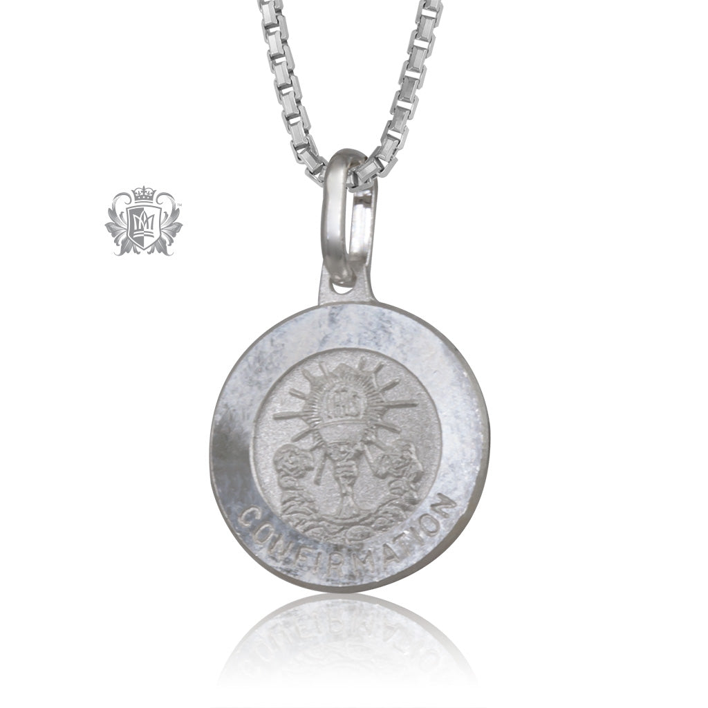 Confirmation Medallion with Chain (not included)