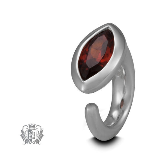Red Marquise Embrace Charm -  Embrace Charm