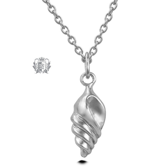 Shell Pendant (Special Edition) - Sterling Silver Necklaces - 2