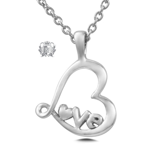 Love Pendant - Sterling silver Necklaces - 2