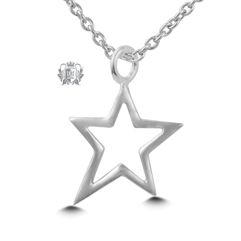Star Pendant - Sterling silver Necklaces - 2