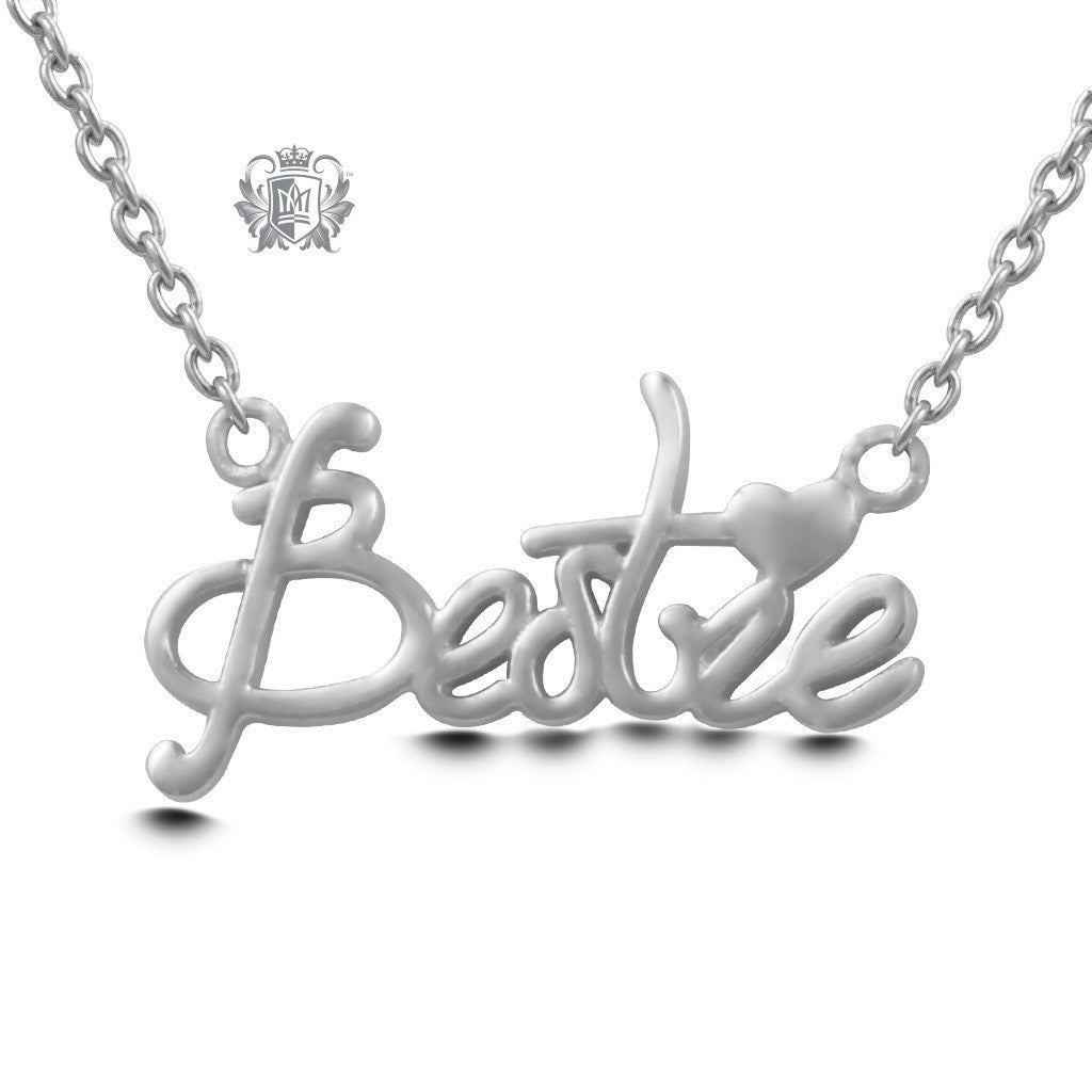 Bestie Pendant - Sterling silver Necklaces - 2