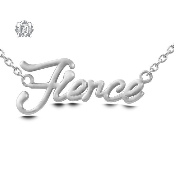 Fierce Pendant - Sterling silver Necklaces - 2